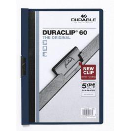 Desky DURACLIP A4/60 tm. modré