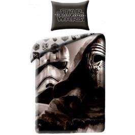 Halantex Povlečení Star Wars VII černá bavlna 140x200 70x90