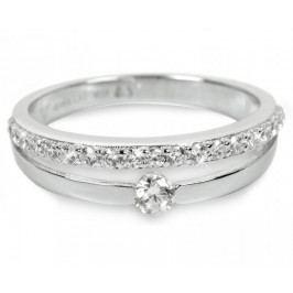 Silver Cat Stříbrný prsten s krystaly SC118 (Obvod 58 mm) stříbro 925/1000