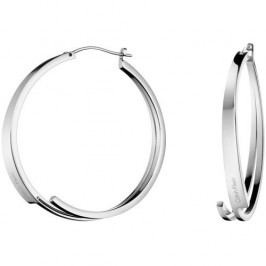Calvin Klein Ocelové náušnice kruhy Beyond KJ3UME000100