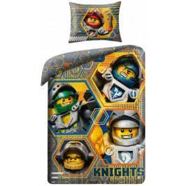 Halantex Povlečení Lego Nexo Knight bavlna 140x200 70x90