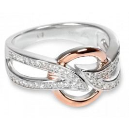 Silver Cat Stříbrný prsten s krystalky SC139 (Obvod 56 mm) stříbro 925/1000