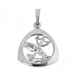 Brilio Silver Stříbrný přívěsek Vodnář  441 001 00891 04 - 1,23 g stříbro 925/1000