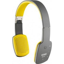 Yenkee Bezdrátová Bluetooth sluchátka (YHP 15BTGY) šedo žlutá - II. jakost