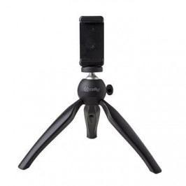 Celly Kompaktní tripod na mobilní telefon Mini Table Tripod, černý CLICKTRIBK