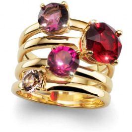 Oliver Weber Originální prsten Duo 41123 RED (Obvod XL (60 - 63 mm))