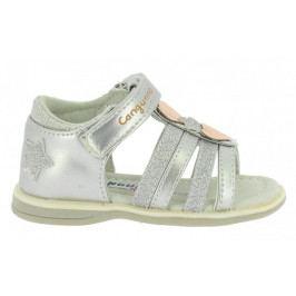 Canguro dívčí sandály 20 stříbrná