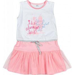 MMDadak dívčí šaty 110 vícebarevná