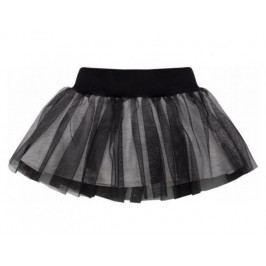 PINOKIO Dívčí sukně Happy day - černá 68