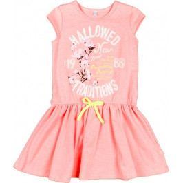 MMDadak dívčí šaty Fluo 104 růžová