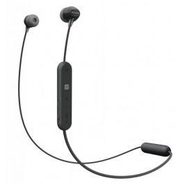 Sony WI-C300, černá - II. jakost