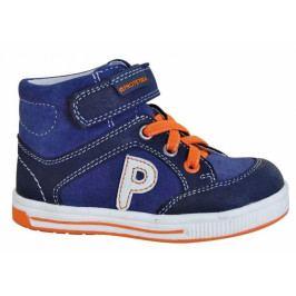Protetika Chlapecké kotníkové boty Oslo - modré 19