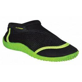 Loap Chlapecké boty do vody Hank Kid 26 černo-zelená