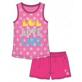 Mix 'n Match dívčí letní set 98 růžová