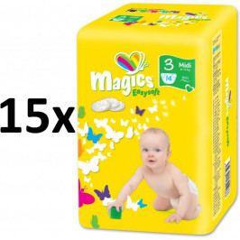 Produkt Magics Easysoft Midi (4-9kg) Multipack - 210 ks Plenky a ubrousky