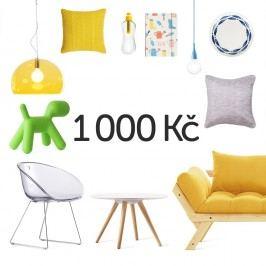 Elektronický dárkový poukaz na 1000 Kč