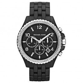 Černé dámské hodinky Michael Kors