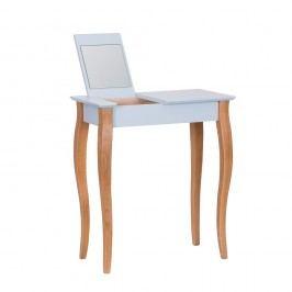 Produkt Světle šedý toaletní stolek se zrcadlem Ragaba Dressing Table,délka65cm Toaletní stolky
