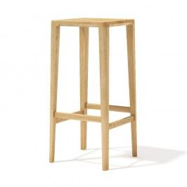 Barová židle z masivního dubového dřeva Javorina, 80cm