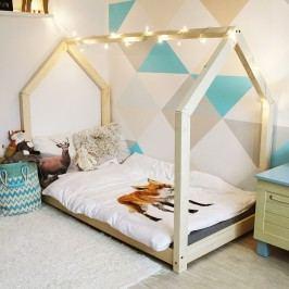 Dětská postel z borovicového dřeva  Benlemi Tery,80x190cm