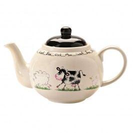 Porcelánová čajová konvice pro 6 lidí Price & Kensington Home Farm,1,1l