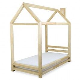 Dětská postel z lakovaného borovicového dřeva Benlemi Happy,80x180cm