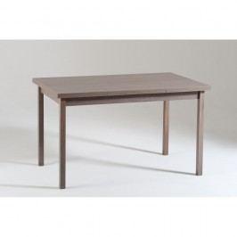 Šedý dřevěný rozkládací jídelní stůl Castagnetti Top, 130cm