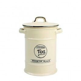 Krémová keramická dóza na čaj T&G Woodware Pride Of Place