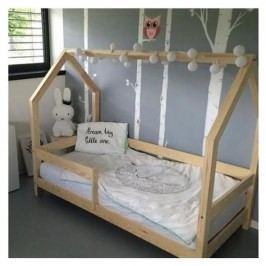 Dětská postel s vyvýšenými nohami a bočnicemi Benlemi Tery,70x140cm,výška nohou20cm