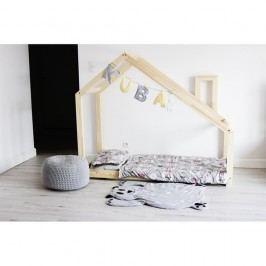Dětská postel s vyvýšenými nohami a bočnicemi Benlemi Deny,70x140cm,výška nohou20cm