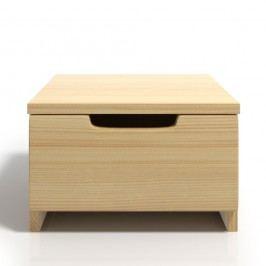 Noční stolek z borovicového dřeva se zásuvkou SKANDICA Spectrum