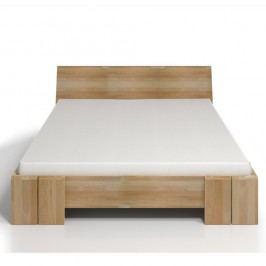 Dvoulůžková postel z bukového dřeva SKANDICA Vestre Maxi, 180x200cm