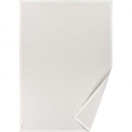 Bílý vzorovaný oboustranný koberec Narma Kalana, 70 x 140cm