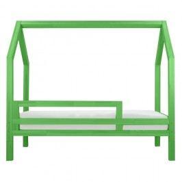 Zelená bočnice k posteli Benlemi Funny