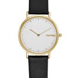 Černozlaté hodinky Rumbatime SoHo Lea
