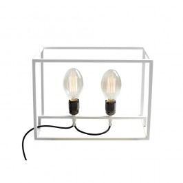 Bílá stolní lampa Custom Form Metric