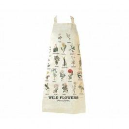 Zástěra z čisté bavlny Gift Republic Wild Flowers