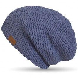 Šedomodrá ručně pletená čepice DOKE Air Force