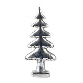 Dekorativní stromek KJ Collection Silver, výška 22 cm