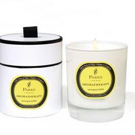 Svíčka s vůní citronové trávy a máty Parks Candles London, 45 hodin hoření