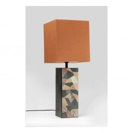 Stolní lampa s oranžovým stínidlem Kare Design 60ies