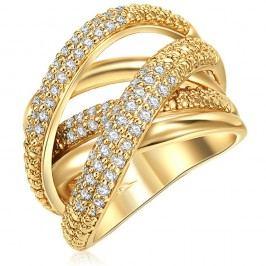 Dámský prsten zlaté barvy Runaway Barbara, 52