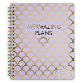 Týdenní plánovač na 12 měsíců Tri-Coastal Design Mermazing