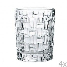 Sada 4 whiskových sklenic z křišťálového skla Nachtmann Bossa Nova,330ml