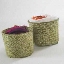 Sada 2 zelených úložných košíků Compactor Rush