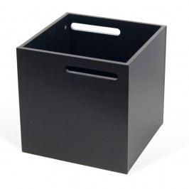 Černý úložný box ke knihovně TemaHome Berlin