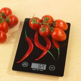 Kuchyňská váha z tvrzeného skla Wenko Peperoni