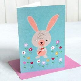 Papírové přání Rex London Daisy The Rabbit