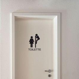 Samolepka Ambiance Toilettes Funny