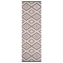 Béžovošedý kuchyňský běhoun Hanse Home Cook and Clean, 45x140cm